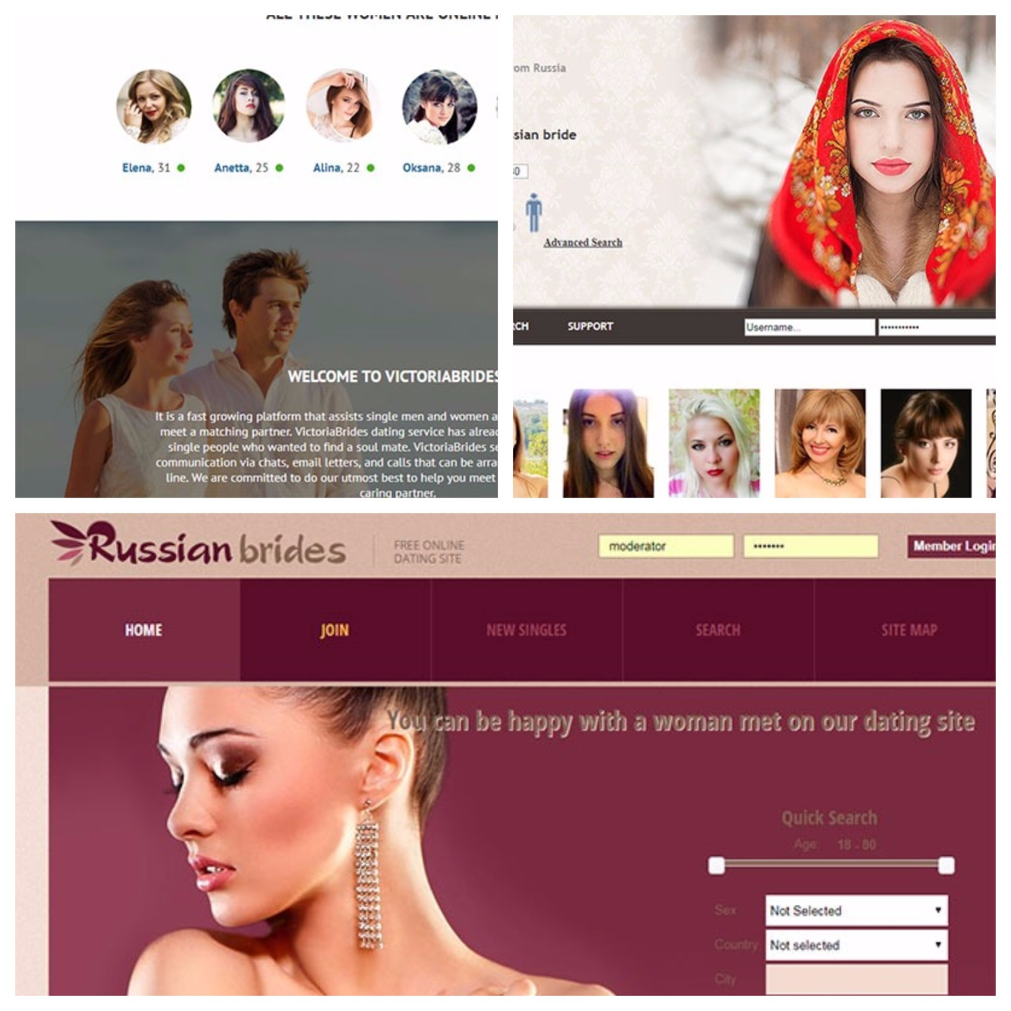 Most popular Ukrainian and Russian dating sites 2017